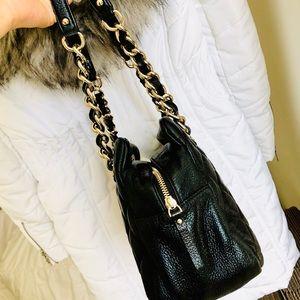 kate spade Bags - ♠️KATE SPADE⚡️Black Leather Quilted Shoulder Bag